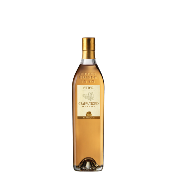 Original Etter Grappa Ticino Barrique 35cl, 41% vol