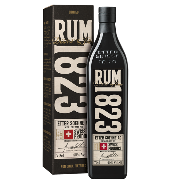 RUM1823 - Swiss Rum 70cl, 40% vol.