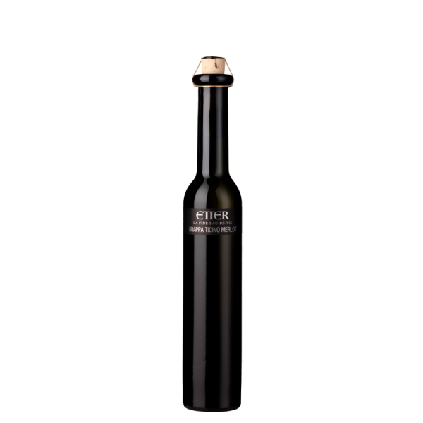 Black Beauty Etter Grappa Ticino Merlot 20cl, 41% Vol.