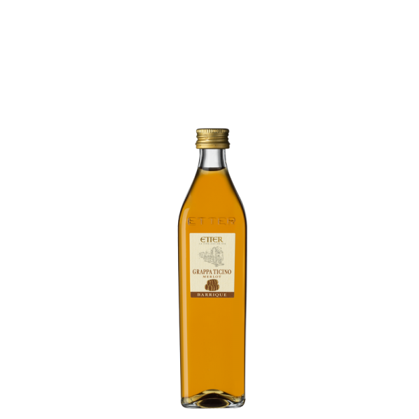 Original Etter Grappa Ticino Barrique 10cl, 41% vol.