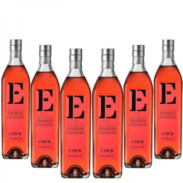 Etter New Generation Strawberry Liqueur 6 bottles of 35cl, 15% vol