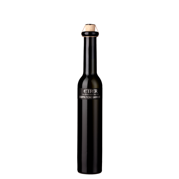 Black Beauty Etter Grappa Ticino Barrique 20cl, 41% vol.