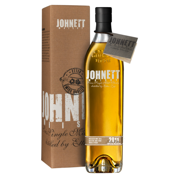 JOHNETT 2010 - Aged 7 years - Swiss Single Malt Whisky 70cl, 44% Vol.