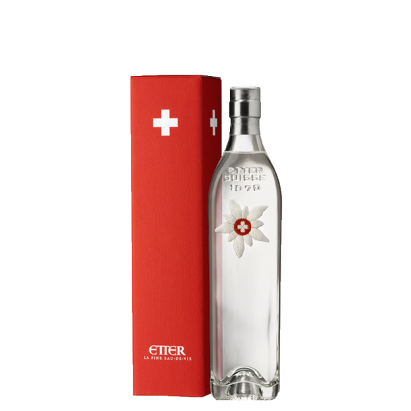 Edelweiss Etter Zuger Krisch in gift box Switzerland 35cl, 41% vol
